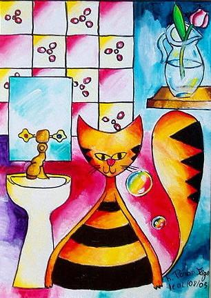 Le chat Tolin (marque déposée)