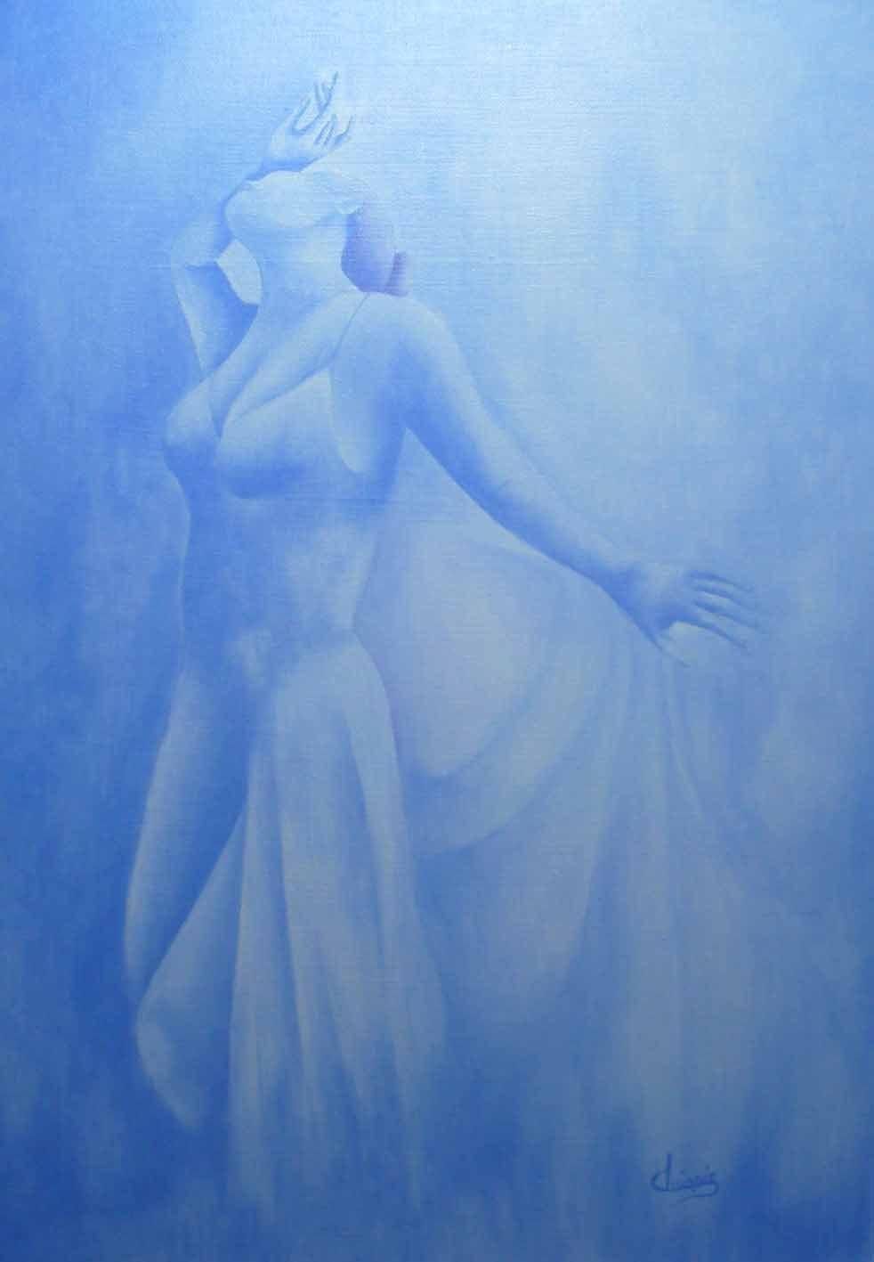 harmonie en bleu