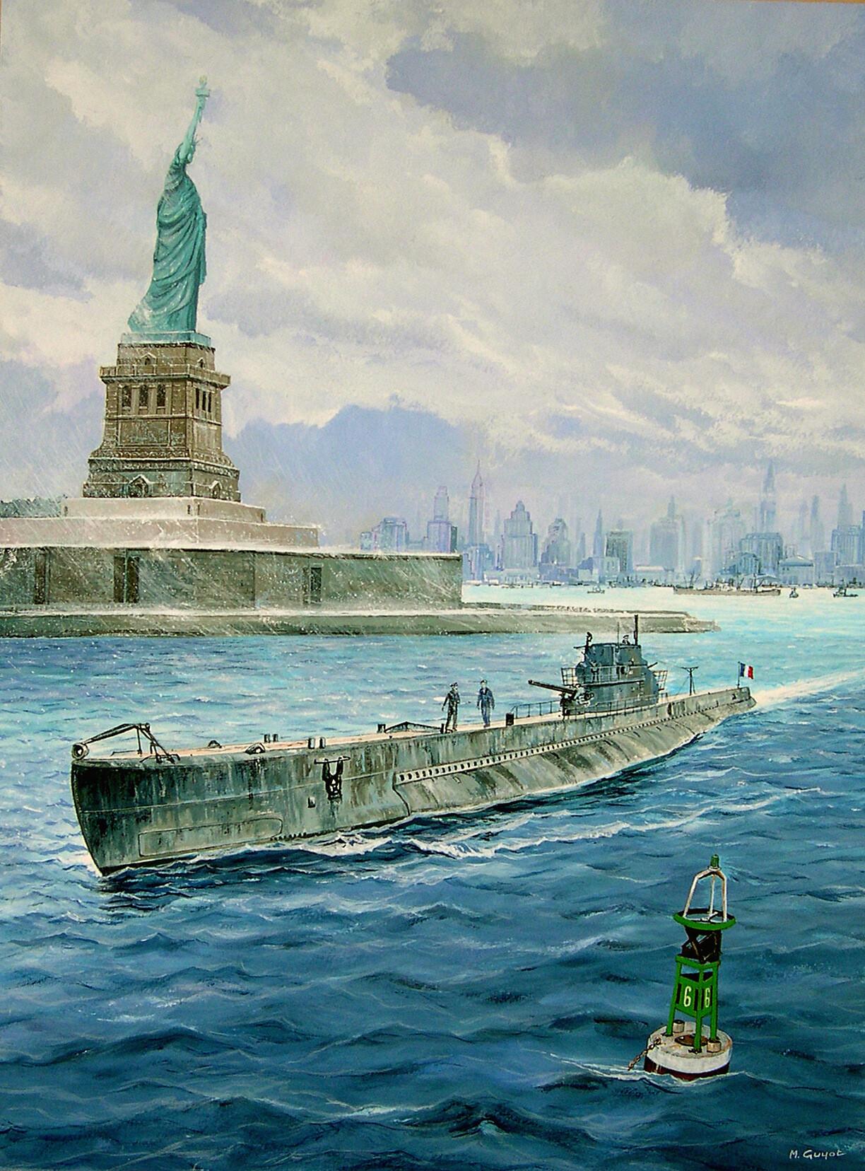 L'Archimède à New York.