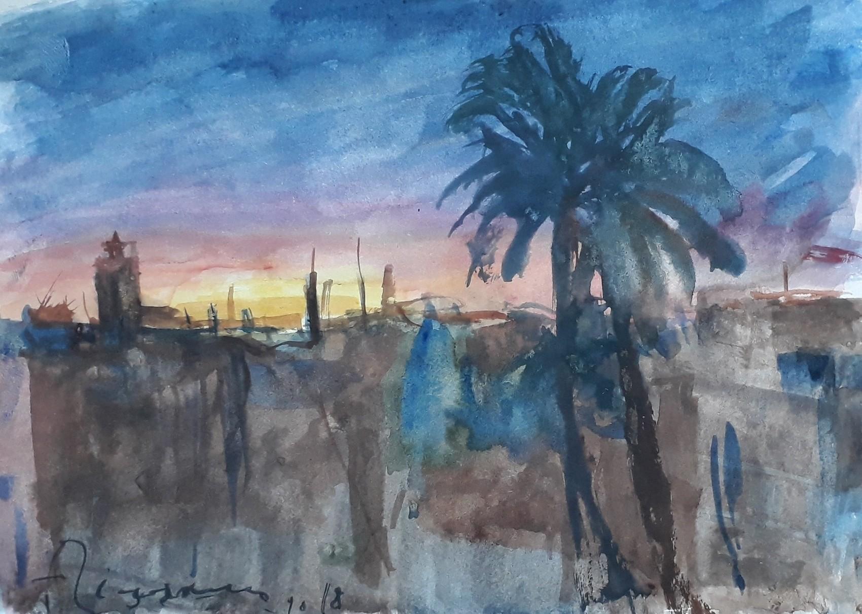 Couché de soleil à TAROUDANT