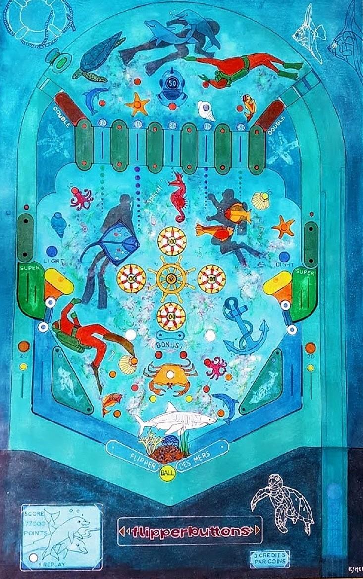 Flipper des Mers