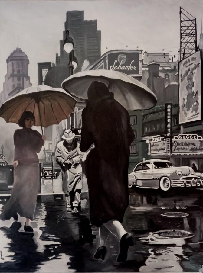 New York sous la pluie 4