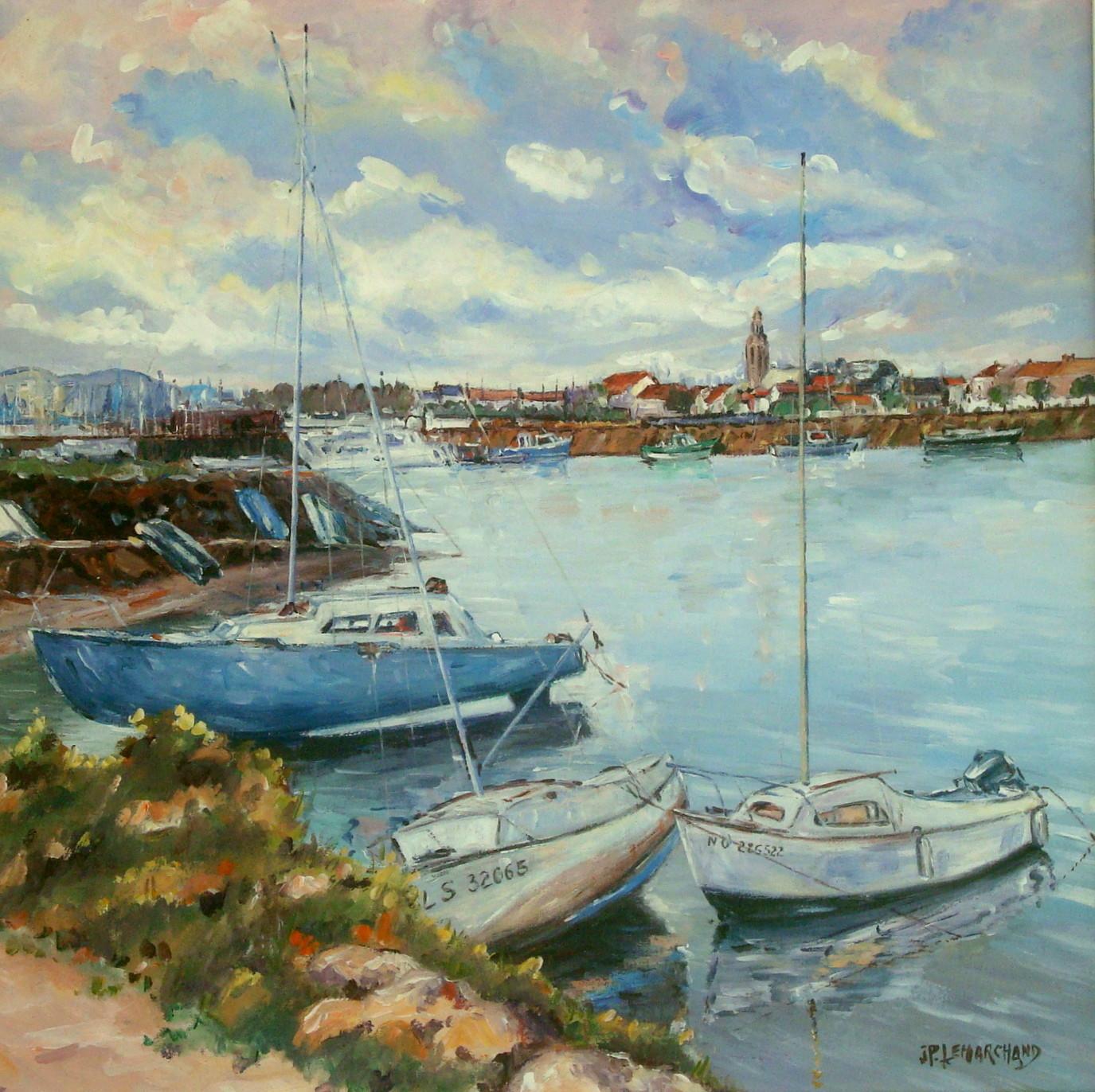 Port de St Gilles croix de Vie .Vendée