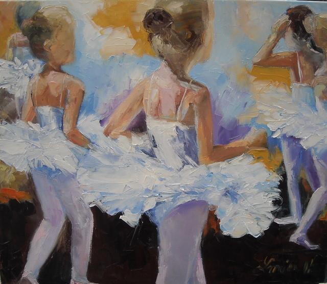 Peinture les petites danseuses - Peinture les danseuses ...