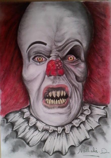 Dessin clown mal fique - Dessin de malefique ...