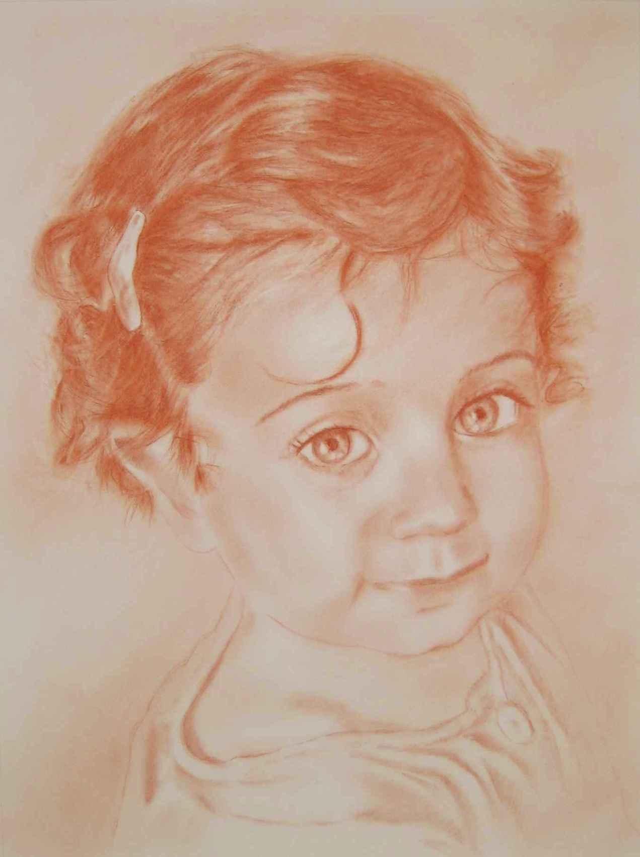 "Portrait  ""Margault"""