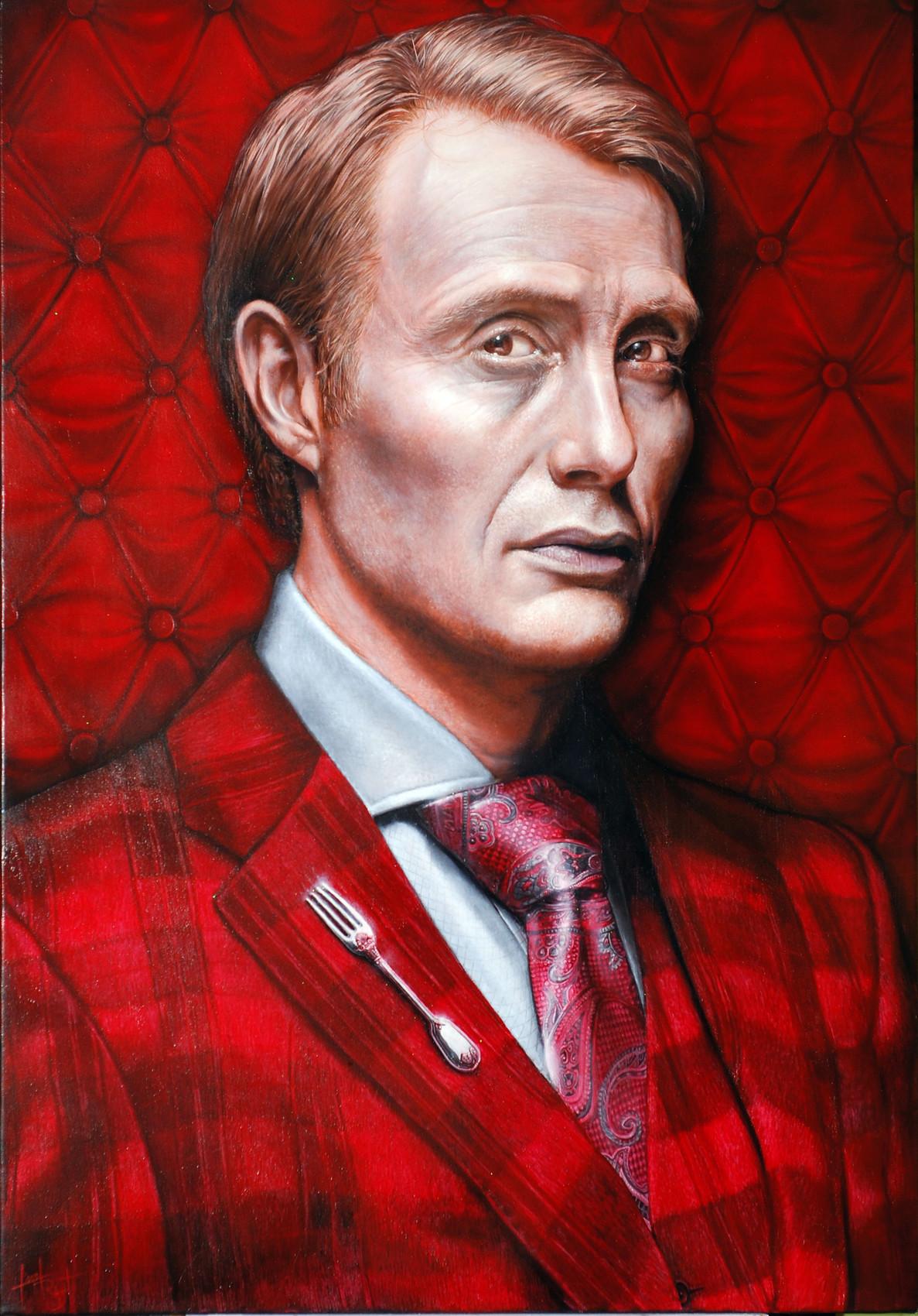 Mads Mikkelsen en Hannibal Lecter