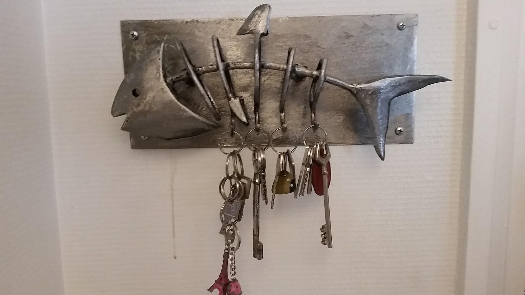 Poisson accroche clés