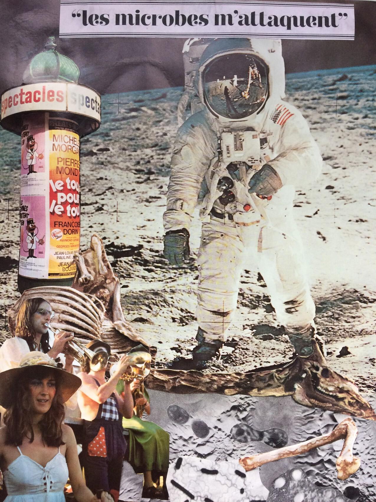 Les voyages immobiles- La lune??