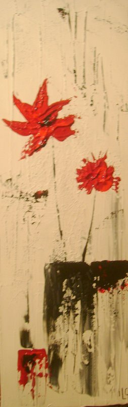 Série fleurs 5 VENDU