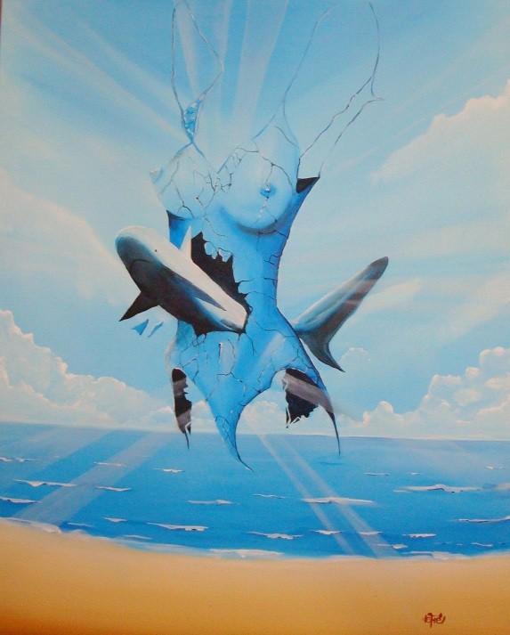 Peinture interpretation de suidmak par defré
