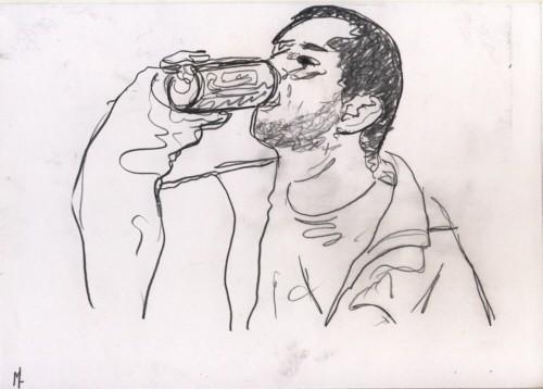 Une boîte de bière
