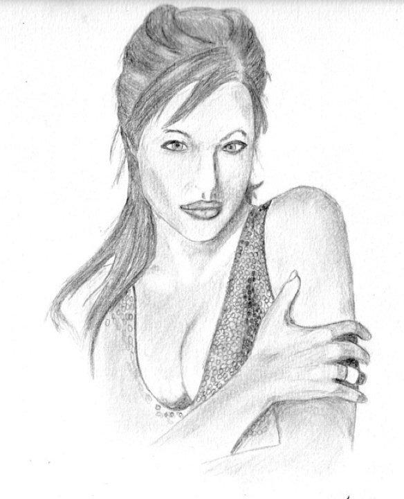 Dessin angelina jolie - Jolie dessin a faire ...
