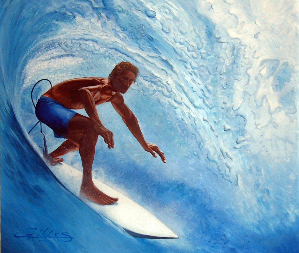 Peinture surfer - Peinture bois sur fer ...