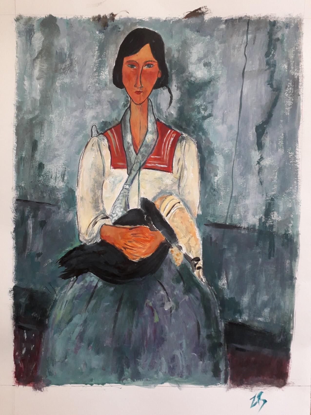 Repro Modigliani entier