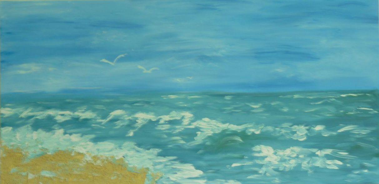 mer bleue lagon