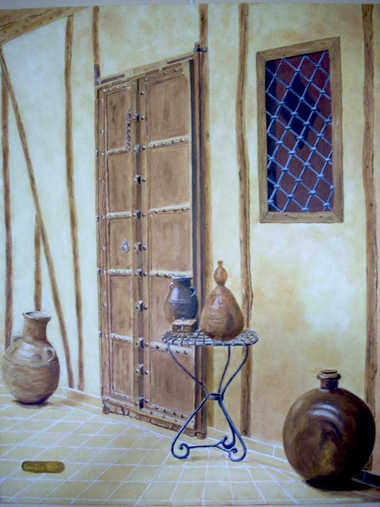 Peinture porte orientale for Porte orientale