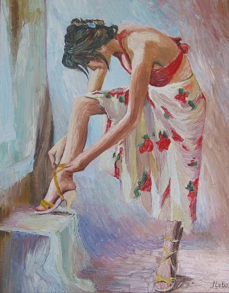 Peinture danseuse - Peinture les danseuses ...