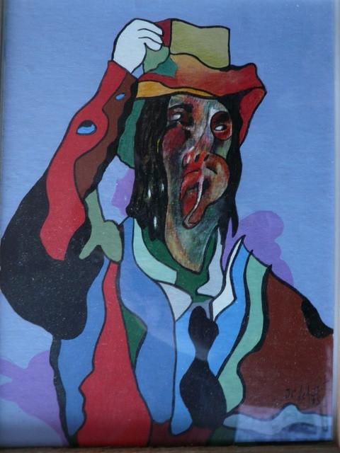 l homme au chapeau