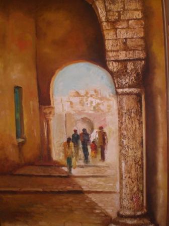 les ruelles  de la medina