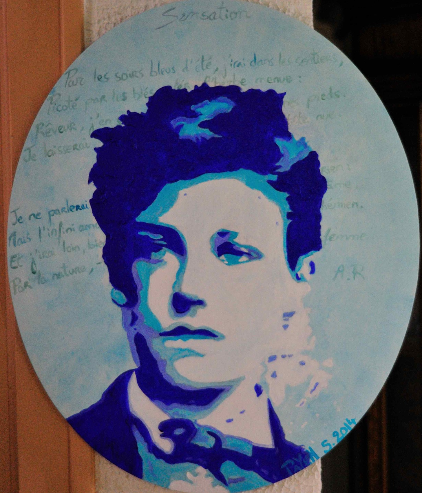 Peinture Rimbaud
