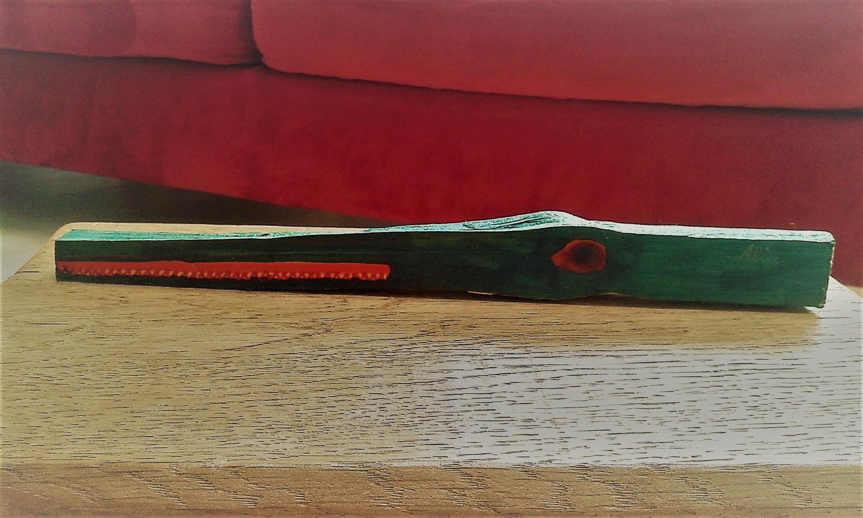 Peinture crocodile vert for Peinture crocodile