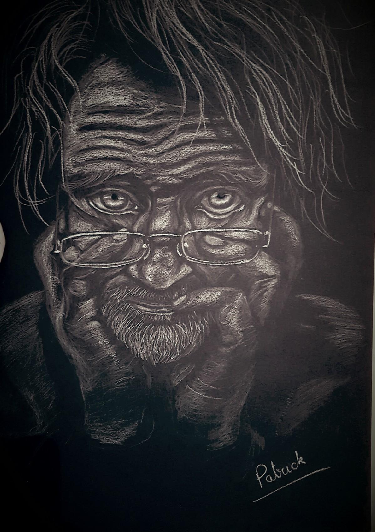 Le vieil homme pensif