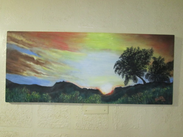 L'egyptienne- coucher de soleil