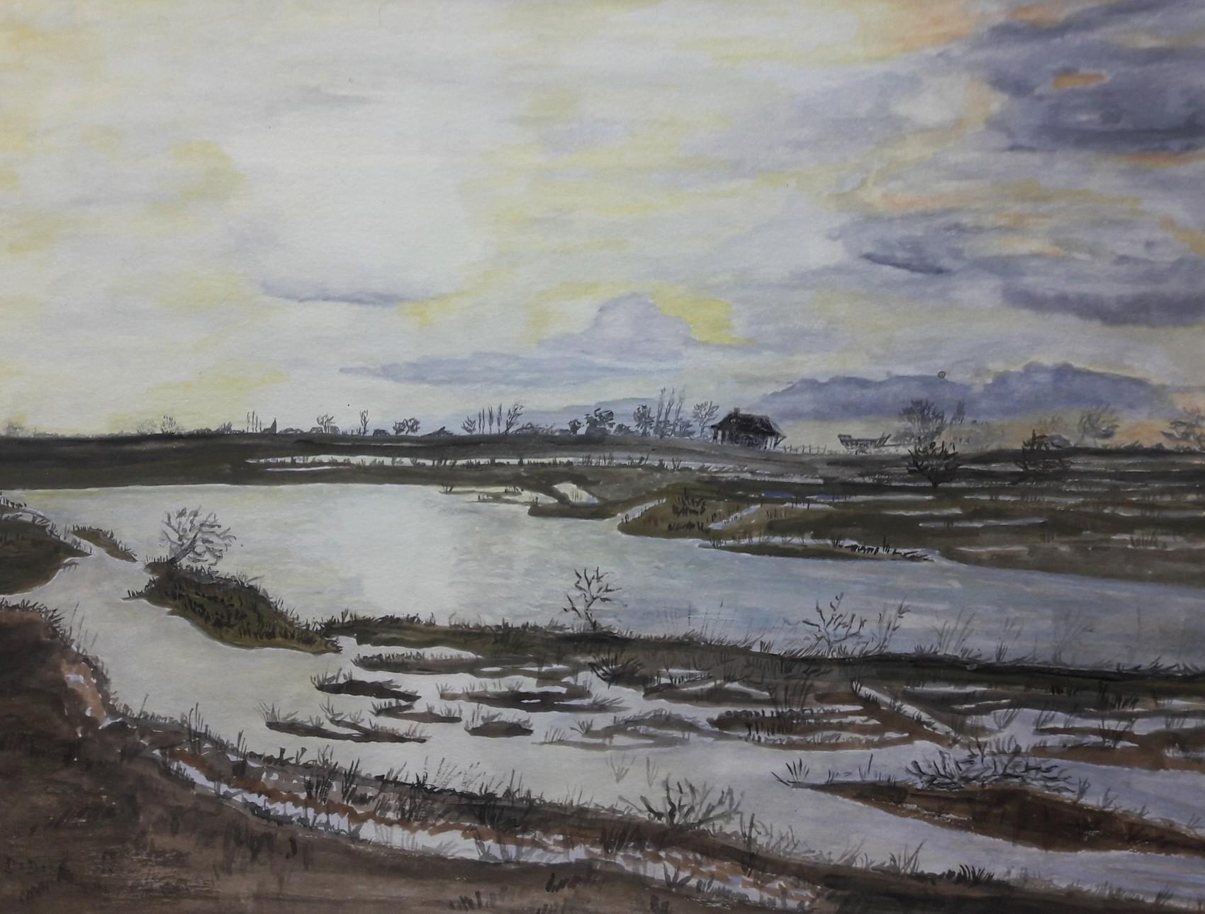 Baie de Sallenelles ....