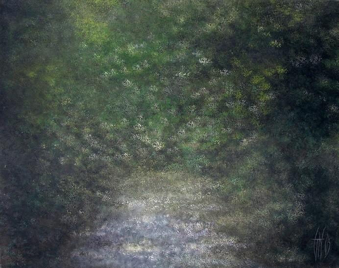 Brouillard vert