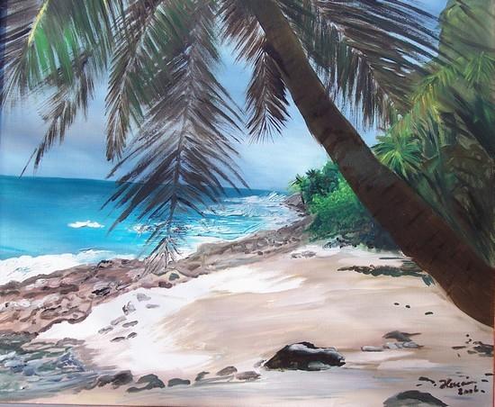 Plage de l'Ile Saint Joseph (Guyane)