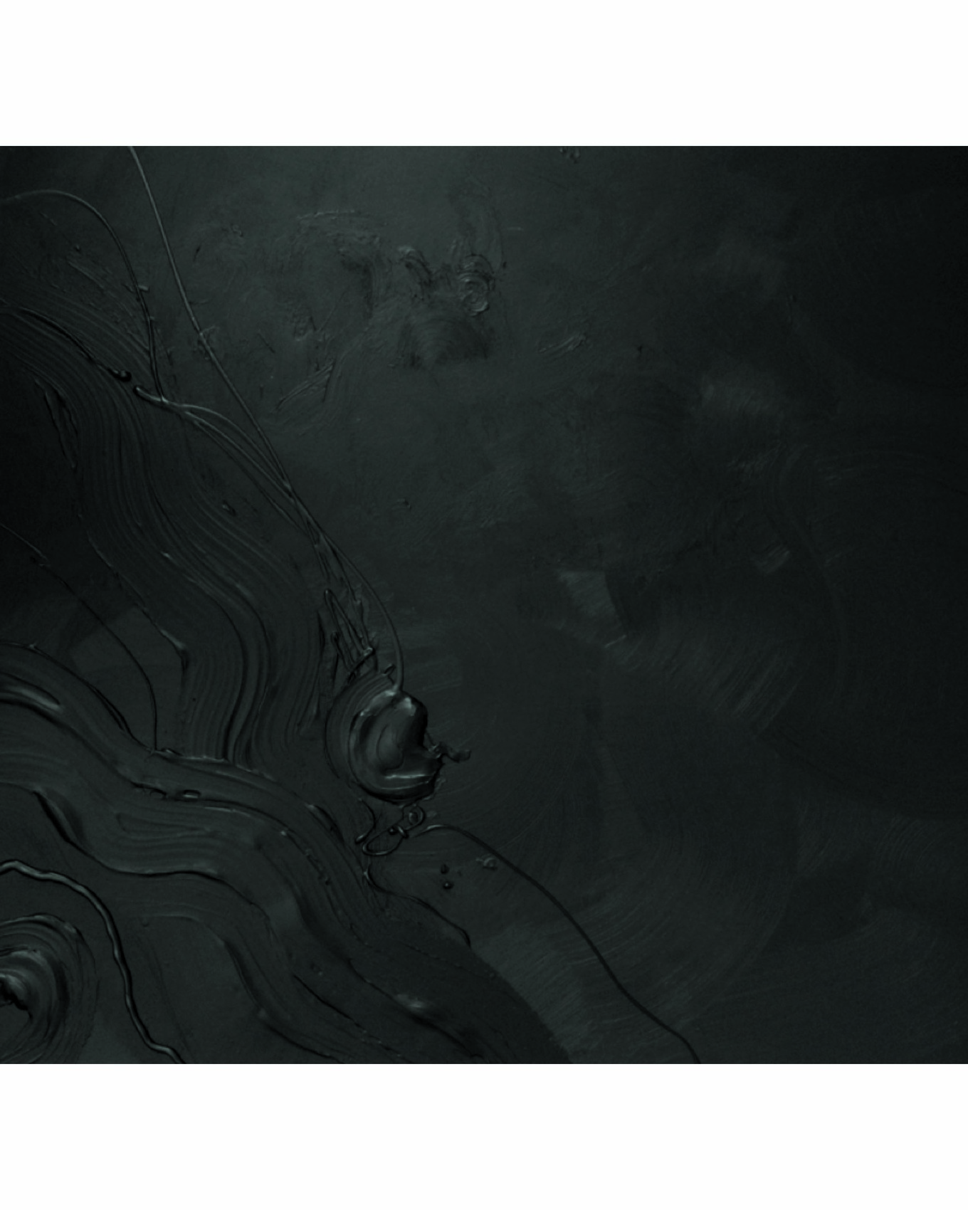 Peinture Monochrome noir
