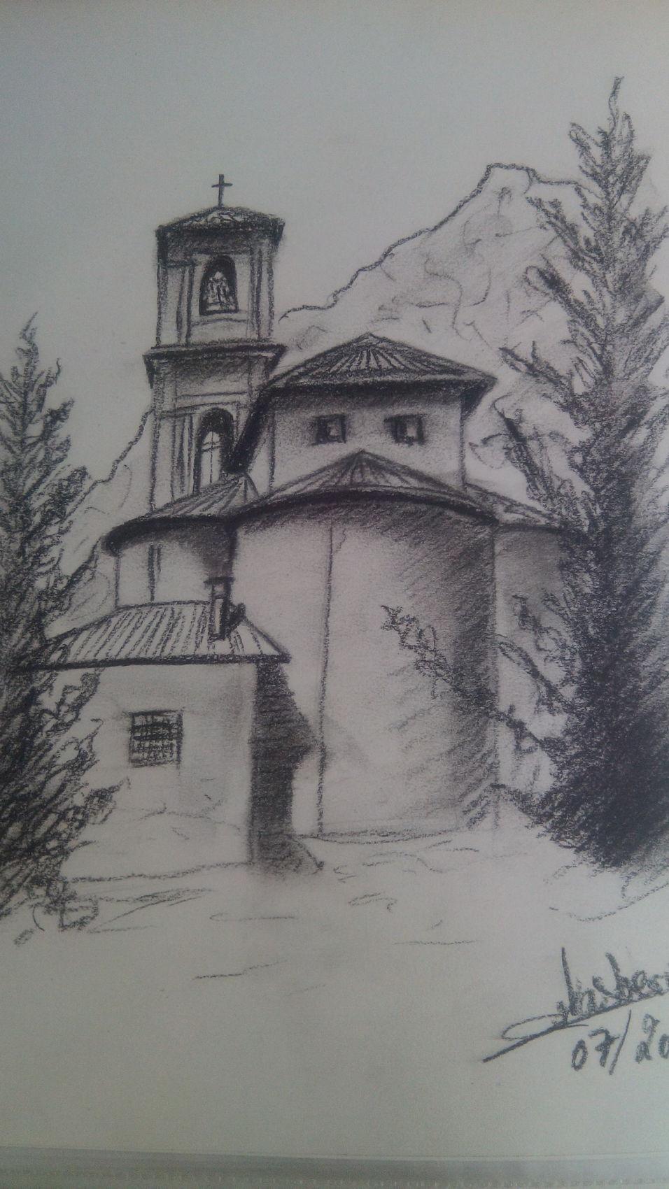 Dessin eglise - Eglise dessin ...