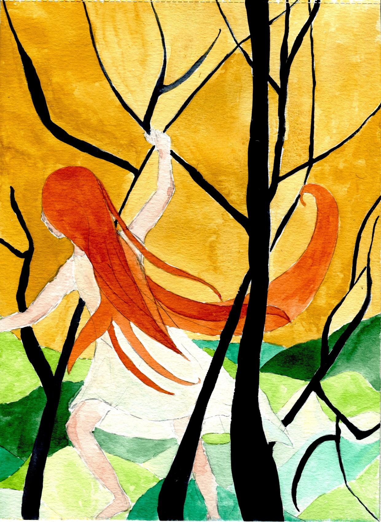 Peinture dans les bois for Betes dans le bois