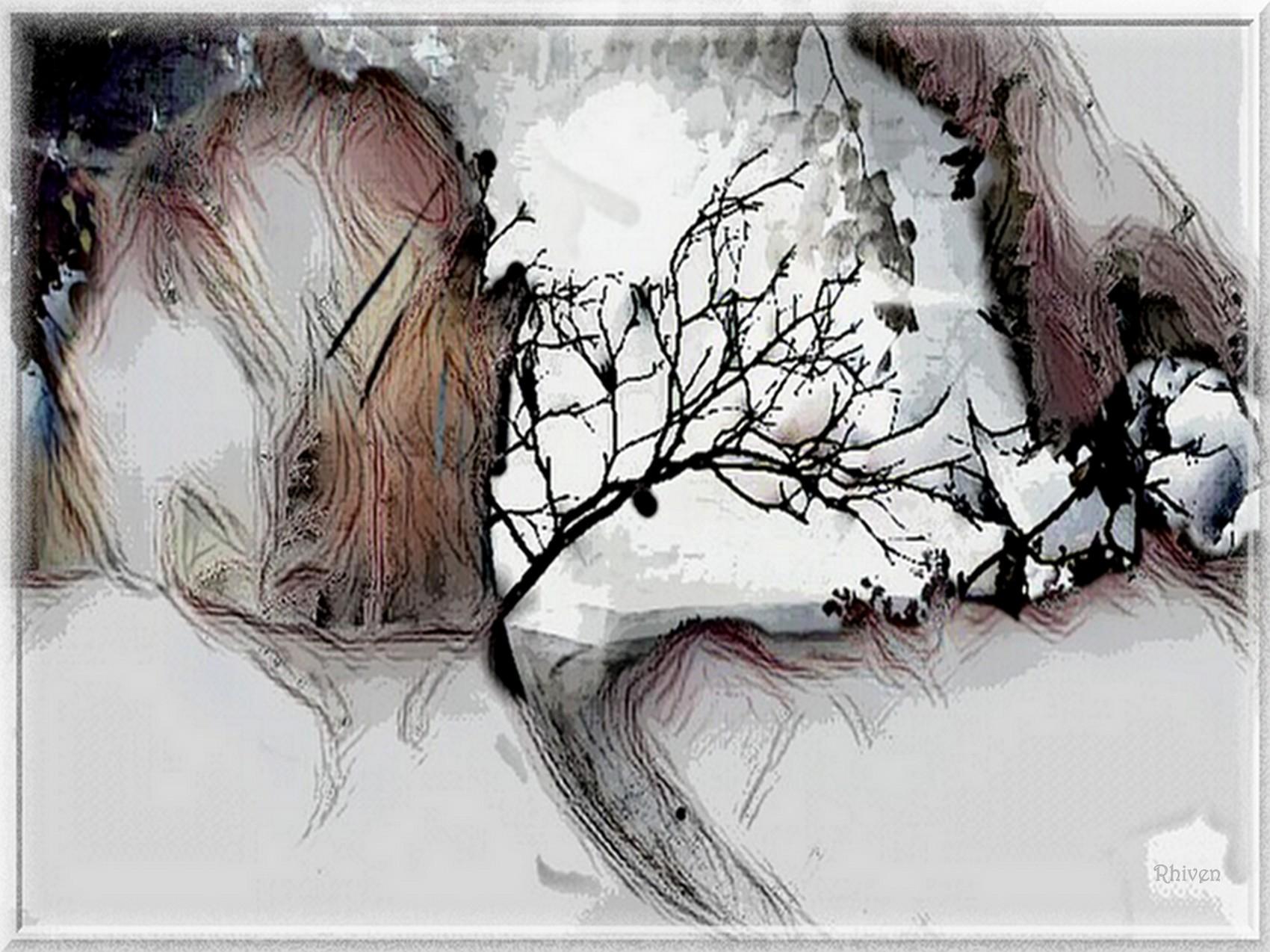 Winter 's coming version monochrome