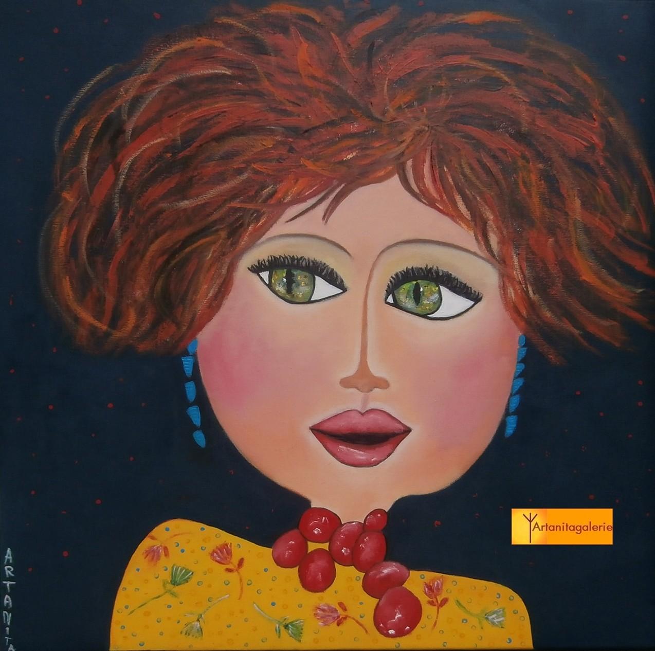 Peinture Marianne