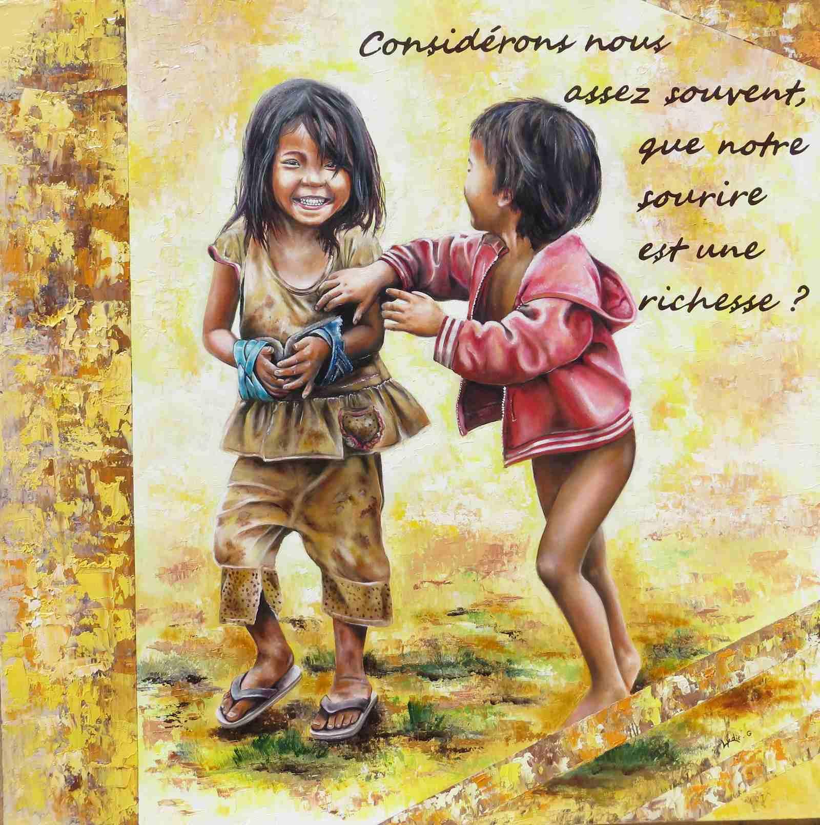 Le sourire (1 er prix public Bouillac 2014)