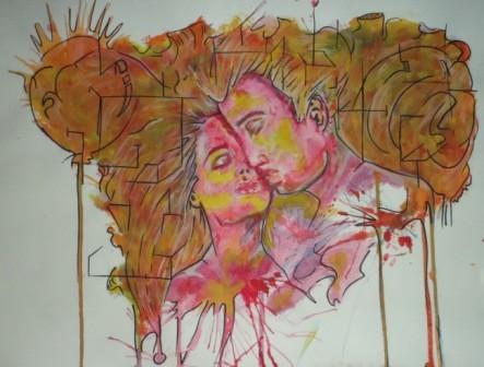 la rencontre amoureuse en peinture Mais c'est avec pablo picasso que la rencontre fut la plus forte la peinture ou la sculpture la femme en chemise.