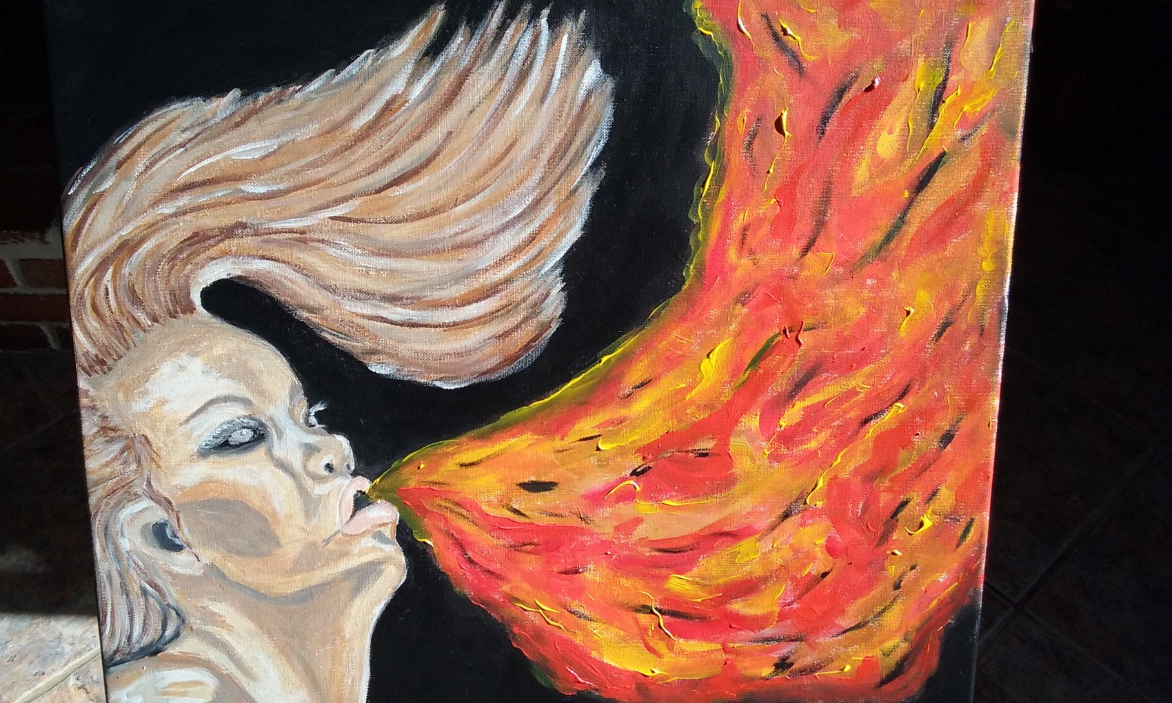 Cracheuse de feu
