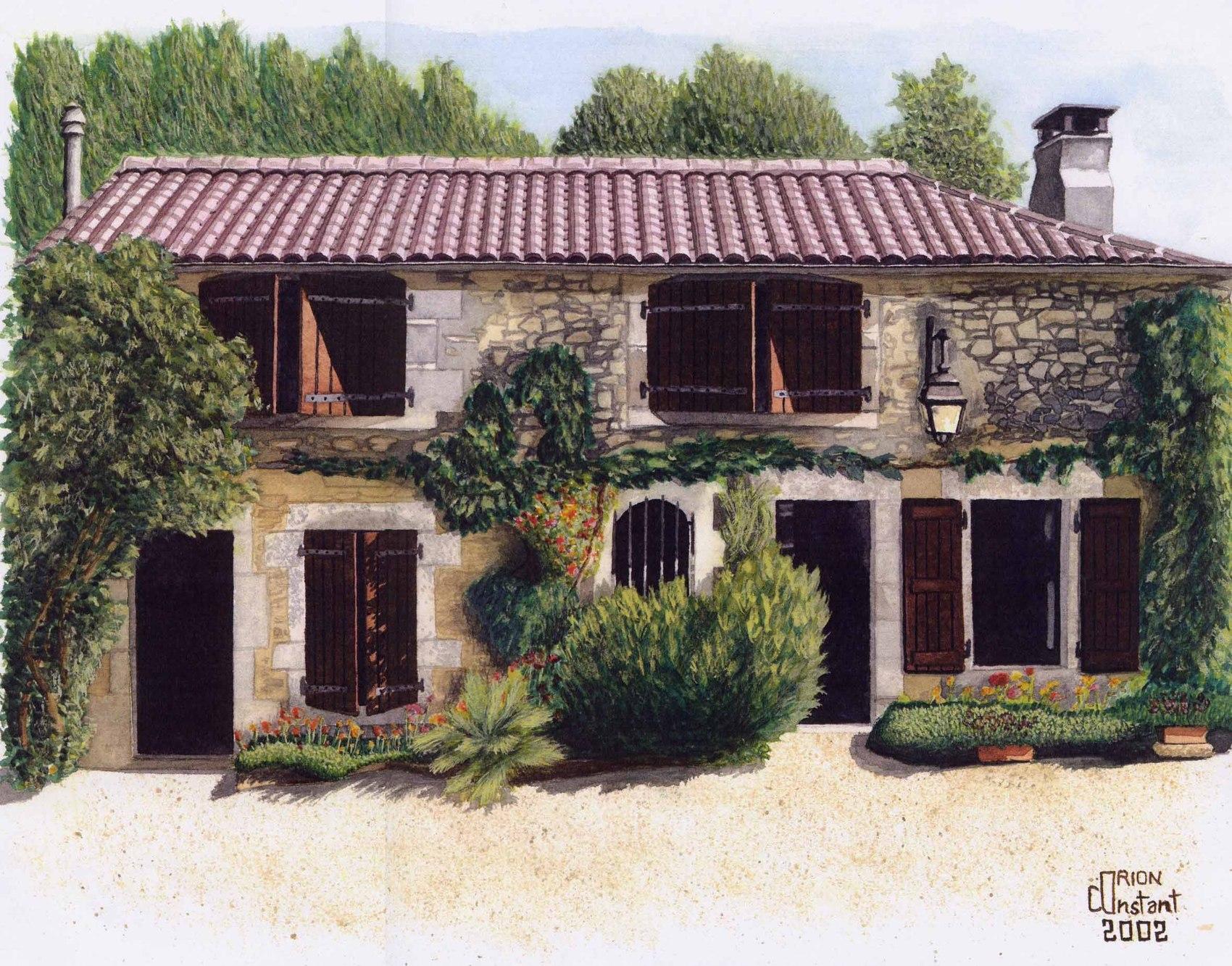 Peinture maison proven ale - Maisons provencales photos ...