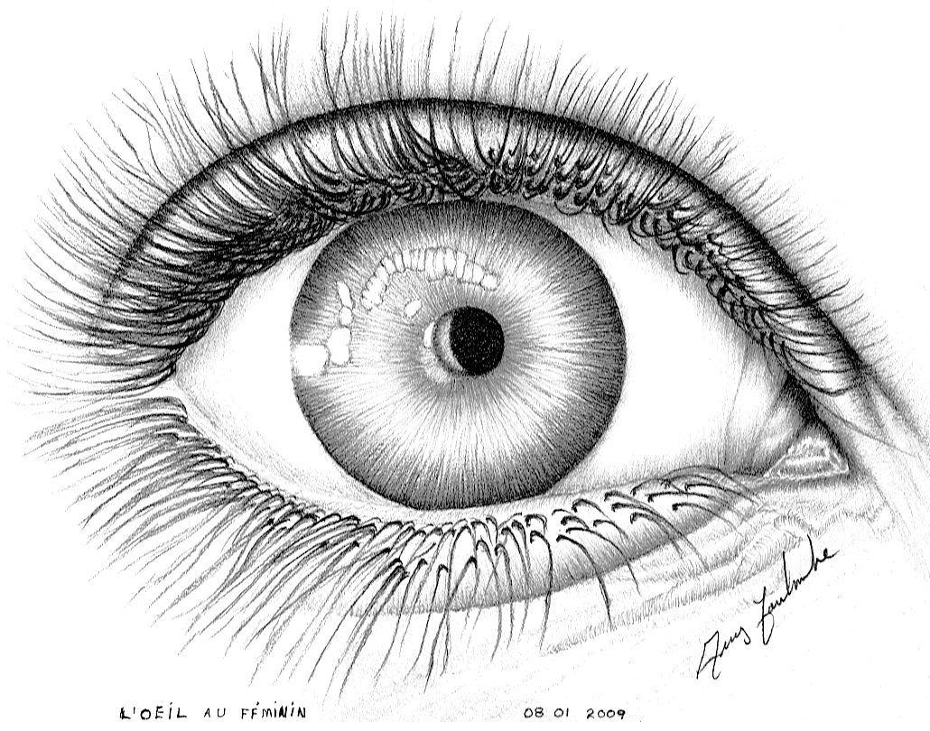 Dessin l 39 oeil - Image de dessin facile ...