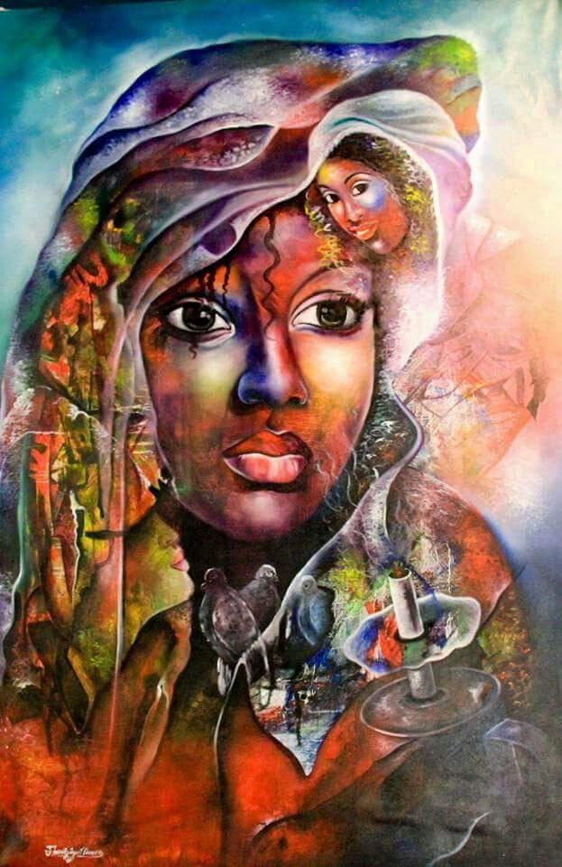 La femme d'ébène