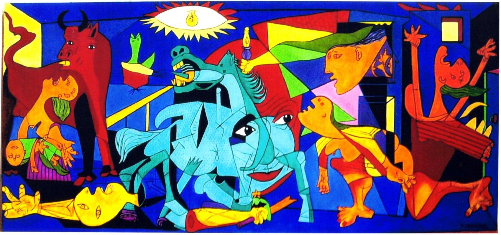 Peinture Guernica et le regard de Picasso