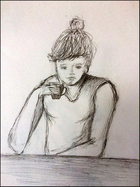 Café amer.