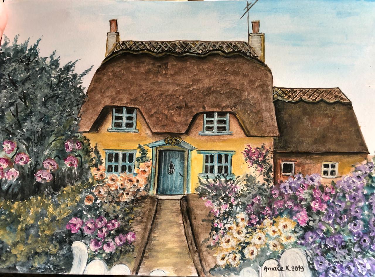 Rose cottage honington England