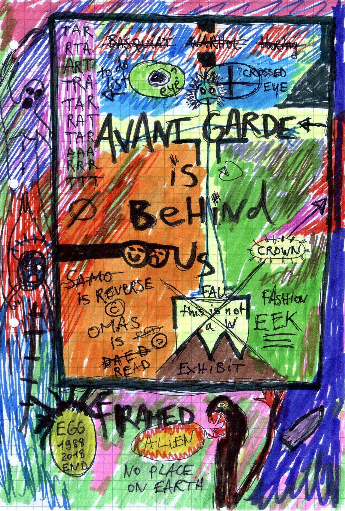 """""""Avant-garde is behind us"""""""