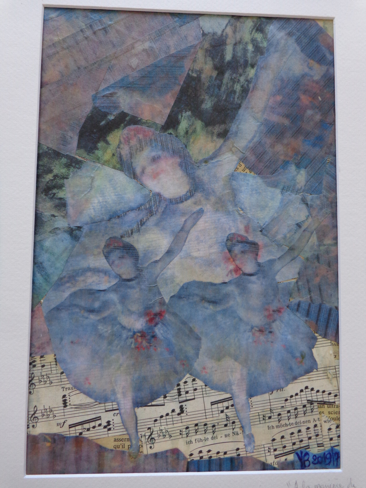 Les danseuses à la manière de Degas