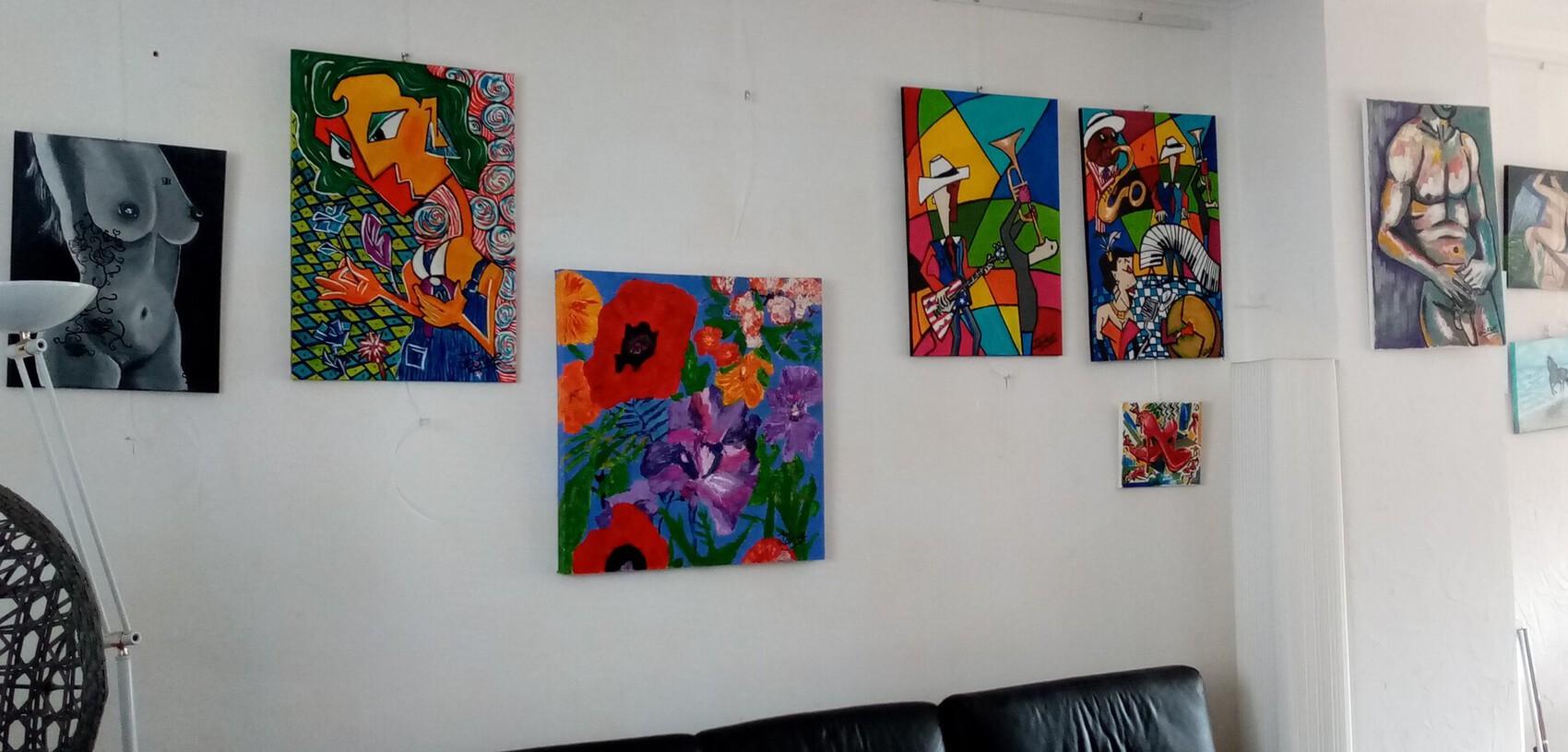 Vue sur mon atelier