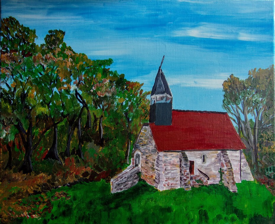 La chapelle des forges a FRESSELINE (CREUSE)