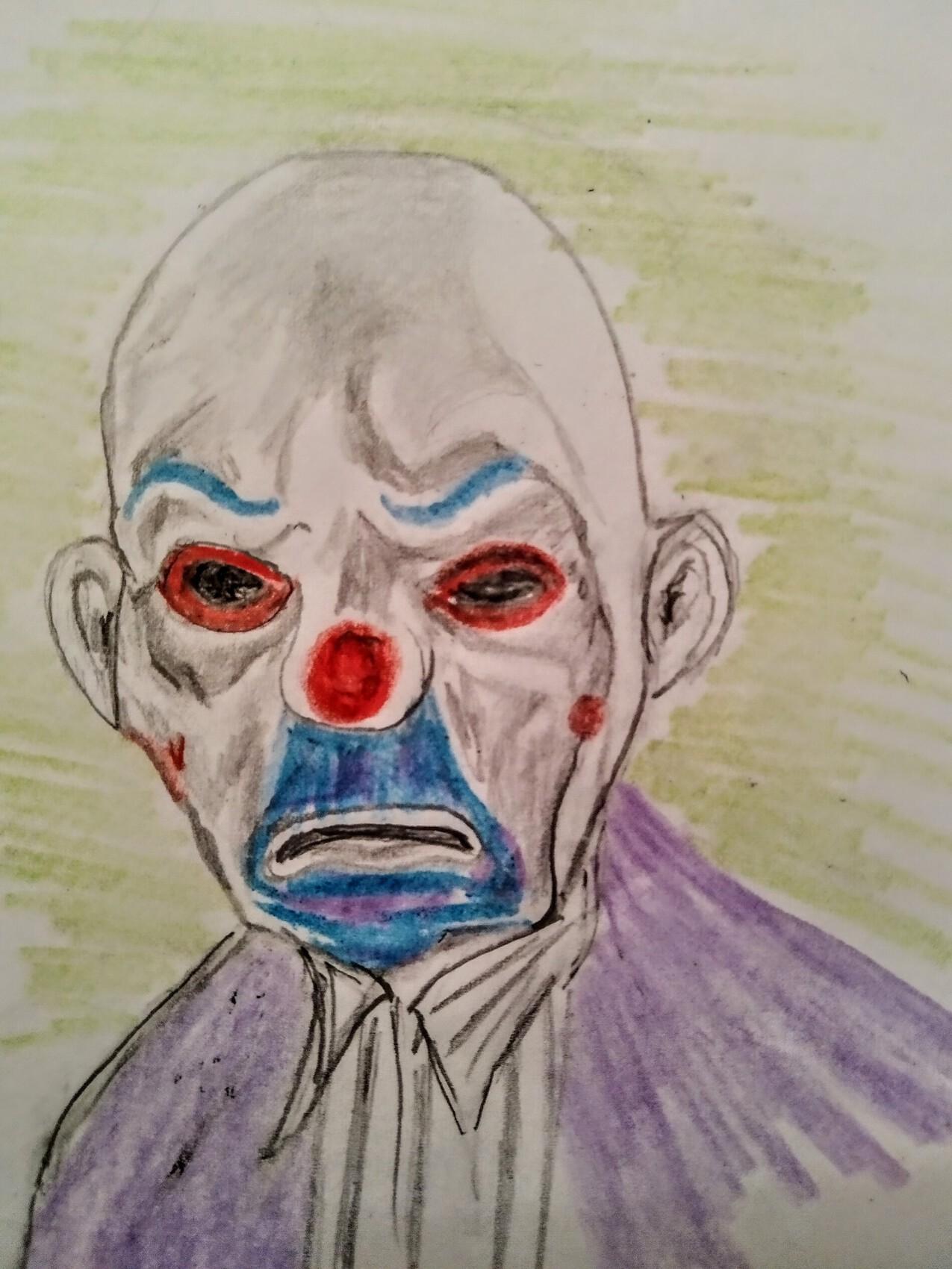 Clown  Banque